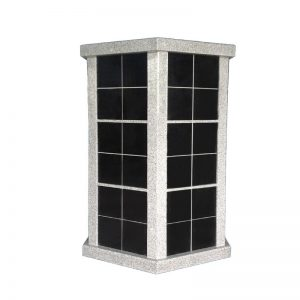 72 Niche Hexagonal Granite Columbarium