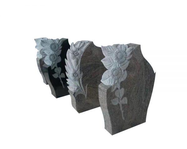 black stone sculpture