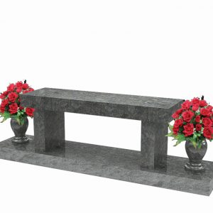 Granite Cremation benches for sale