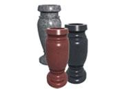 China Grey Granite vases